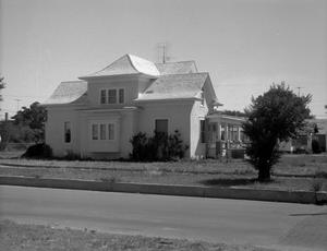 Primary view of object titled '[E. B. Black House Before Restoration]'.