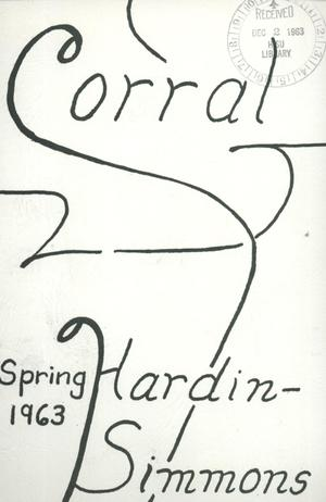 Primary view of object titled 'The Corral, Volume 12, Number 2, Spring, 1963'.