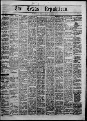 Primary view of The Texas Republican. (Marshall, Tex.), Vol. 19, No. 43, Ed. 1 Friday, May 29, 1868