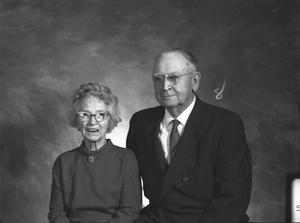 Primary view of object titled '[Portrait of Mr. and Mrs. Jim Black]'.