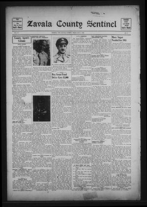 Primary view of object titled 'Zavala County Sentinel (Crystal City, Tex.), Vol. 34, No. 2, Ed. 1 Friday, May 4, 1945'.
