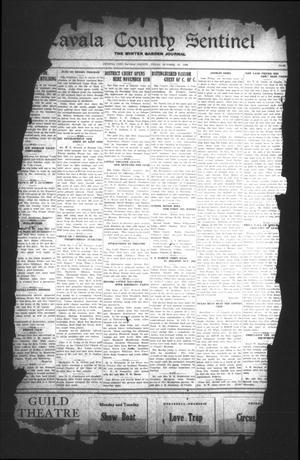 Primary view of Zavala County Sentinel (Crystal City, Tex.), Vol. [18], No. 22, Ed. 1 Friday, October 25, 1929