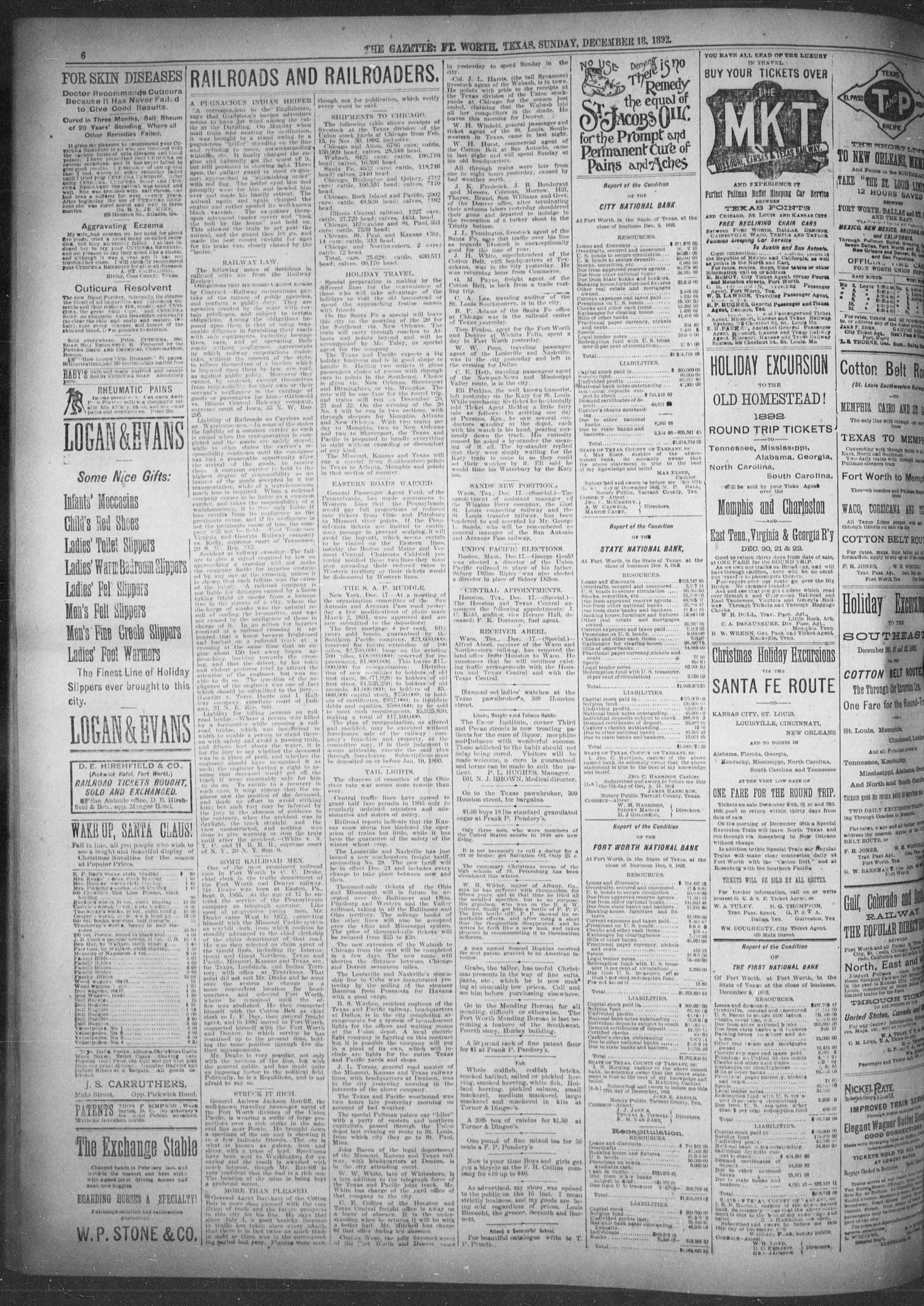 Fort Worth Gazette  (Fort Worth, Tex ), Vol  17, No  37, Ed