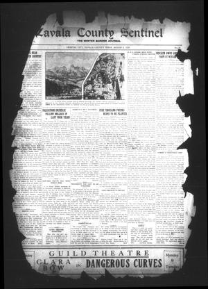 Primary view of object titled 'Zavala County Sentinel (Crystal City, Tex.), Vol. [18], No. 10, Ed. 1 Friday, August 2, 1929'.