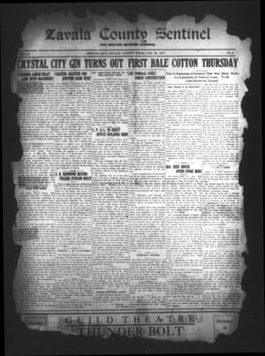 Primary view of object titled 'Zavala County Sentinel (Crystal City, Tex.), Vol. 18, No. 9, Ed. 1 Friday, July 26, 1929'.