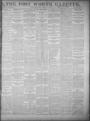 Fort Worth Gazette. (Fort Worth, Tex.), Vol. 17, No. 53, Ed. 1, Wednesday, January 4, 1893
