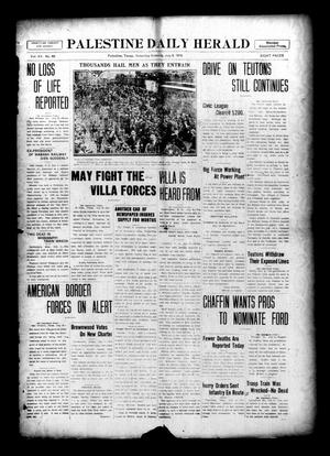 Palestine Daily Herald (Palestine, Tex), Vol. 15, No. 69, Ed. 1 Saturday, July 8, 1916