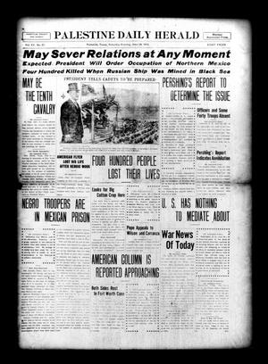 Palestine Daily Herald (Palestine, Tex), Vol. 15, No. 57, Ed. 1 Saturday, June 24, 1916