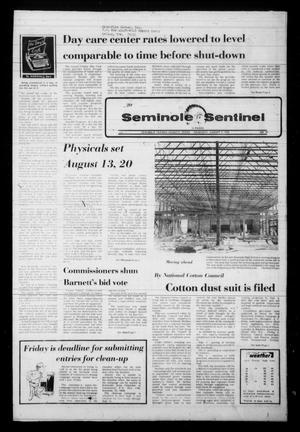 Seminole Sentinel (Seminole, Tex.), Vol. 71, No. 78, Ed. 1 Thursday, August 3, 1978