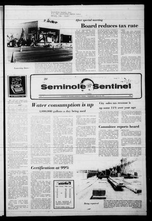 Seminole Sentinel (Seminole, Tex.), Vol. 71, No. 74, Ed. 1 Thursday, July 20, 1978
