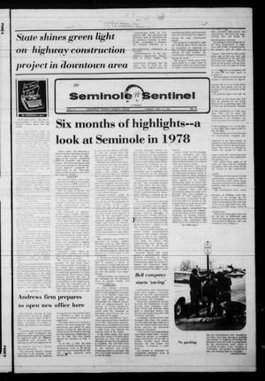 Seminole Sentinel (Seminole, Tex.), Vol. 72, No. 18, Ed. 1 Sunday, December 31, 1978