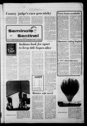 Seminole Sentinel (Seminole, Tex.), Vol. 71, No. 100, Ed. 1 Thursday, October 19, 1978