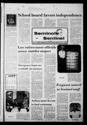 Seminole Sentinel (Seminole, Tex.), Vol. 71, No. 86, Ed. 1 Thursday, August 31, 1978