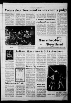 Seminole Sentinel (Seminole, Tex.), Vol. 72, No. 3, Ed. 1 Thursday, November 9, 1978