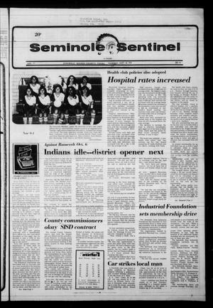 Seminole Sentinel (Seminole, Tex.), Vol. 71, No. 94, Ed. 1 Thursday, September 28, 1978