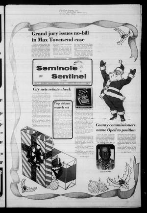 Seminole Sentinel (Seminole, Tex.), Vol. 72, No. 16, Ed. 1 Sunday, December 24, 1978