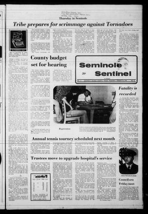 Seminole Sentinel (Seminole, Tex.), Vol. 71, No. 84, Ed. 1 Thursday, August 24, 1978