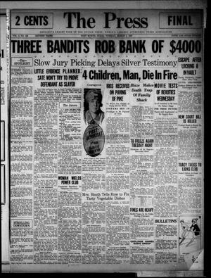 The Press (Fort Worth, Tex.), Vol. 6, No. 128, Ed. 1 Tuesday, March 1, 1927