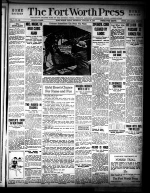 The Fort Worth Press (Fort Worth, Tex.), Vol. 6, No. 100, Ed. 1 Thursday, January 27, 1927