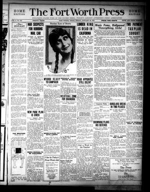 The Fort Worth Press (Fort Worth, Tex.), Vol. 6, No. 101, Ed. 1 Friday, January 28, 1927