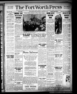 The Fort Worth Press (Fort Worth, Tex.), Vol. 6, No. 108, Ed. 1 Saturday, February 5, 1927