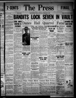 The Press (Fort Worth, Tex.), Vol. 6, No. 120, Ed. 1 Saturday, February 19, 1927