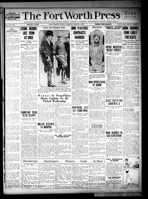 The Fort Worth Press (Fort Worth, Tex.), Vol. 6, No. 134, Ed. 1 Tuesday, March 8, 1927