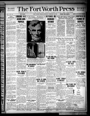 The Fort Worth Press (Fort Worth, Tex.), Vol. 6, No. 114, Ed. 1 Saturday, February 12, 1927