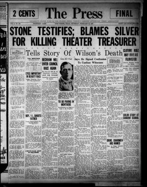 The Press (Fort Worth, Tex.), Vol. 6, No. 124, Ed. 1 Thursday, February 24, 1927