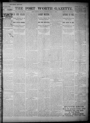 Primary view of object titled 'Fort Worth Gazette. (Fort Worth, Tex.), Vol. 18, No. 226, Ed. 1, Saturday, July 7, 1894'.