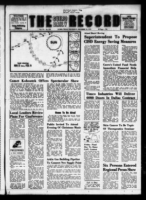 The Cuero Daily Record (Cuero, Tex.), Vol. 79, No. 278, Ed. 1 Wednesday, December 12, 1973