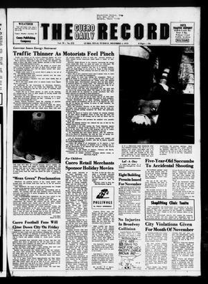 The Cuero Daily Record (Cuero, Tex.), Vol. 79, No. 272, Ed. 1 Tuesday, December 4, 1973