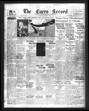 The Cuero Record (Cuero, Tex.), Vol. 50, No. 79, Ed. 1 Friday, April 14, 1944