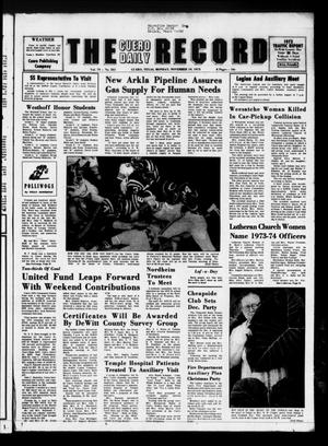 The Cuero Daily Record (Cuero, Tex.), Vol. 79, No. 261, Ed. 1 Monday, November 19, 1973
