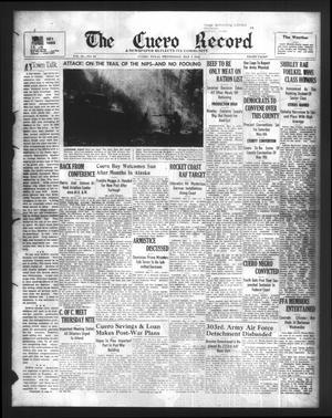 The Cuero Record (Cuero, Tex.), Vol. 50, No. 94, Ed. 1 Wednesday, May 3, 1944