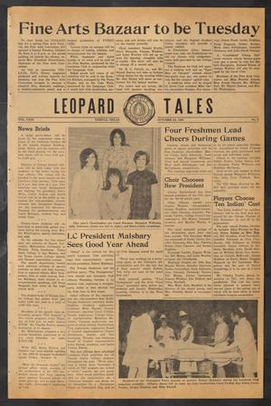 Primary view of object titled 'Leopard Tales (Temple, Tex.), Vol. 23, No. 2, Ed. 1 Thursday, October 24, 1968'.