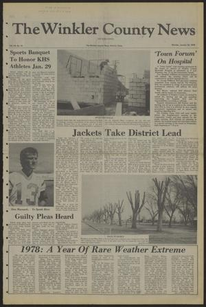 The Winkler County News (Kermit, Tex.), Vol. 43, No. 34, Ed. 1 Monday, January 22, 1979