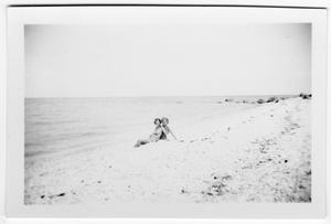 Primary view of object titled '[Peg and Buddy McLaughlin - Long Island Sound]'.