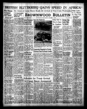 Brownwood Bulletin (Brownwood, Tex.), Vol. 40, No. 49, Ed. 1 Tuesday, December 10, 1940