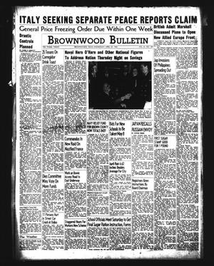 Brownwood Bulletin (Brownwood, Tex.), Vol. 41, No. 189, Ed. 1 Wednesday, April 22, 1942