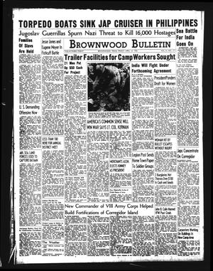 Brownwood Bulletin (Brownwood, Tex.), Vol. 41, No. 177, Ed. 1 Friday, April 10, 1942