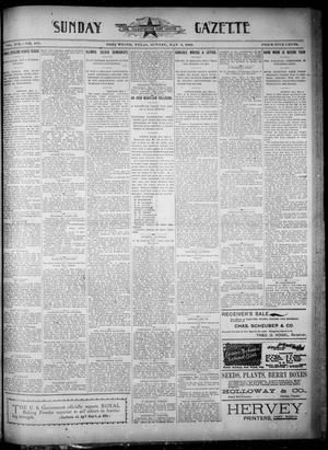 Fort Worth Gazette. (Fort Worth, Tex.), Vol. 19, No. 161, Ed. 2, Sunday, May 5, 1895