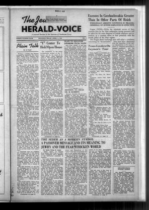 Primary view of The Jewish Herald-Voice (Houston, Tex.), Vol. 34, No. 2, Ed. 1 Thursday, April 6, 1939
