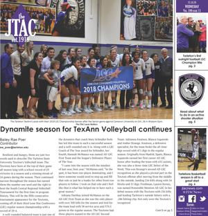 JTAC News (Stephenville, Tex.), Vol. 199, No. 11, Ed. 1 Wednesday, November 14, 2018