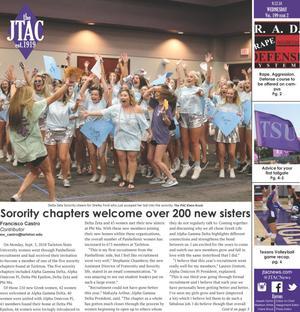 JTAC News (Stephenville, Tex.), Vol. 199, No. 2, Ed. 1 Wednesday, September 12, 2018