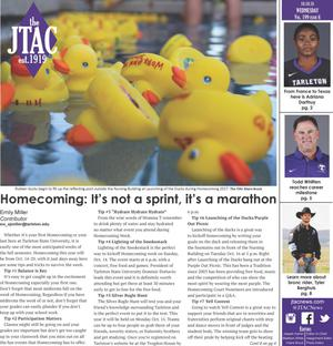 JTAC News (Stephenville, Tex.), Vol. 199, No. 6, Ed. 1 Wednesday, October 10, 2018