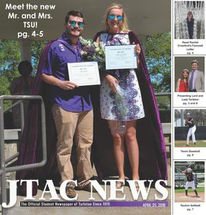 Primary view of object titled 'JTAC News (Stephenville, Tex.), Ed. 1 Wednesday, April 25, 2018'.
