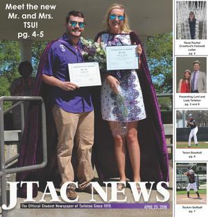 JTAC News (Stephenville, Tex.), Ed. 1 Wednesday, April 25, 2018