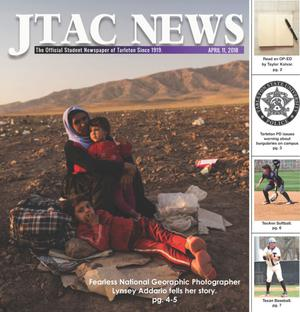 Primary view of JTAC News (Stephenville, Tex.), Ed. 1 Wednesday, April 11, 2018