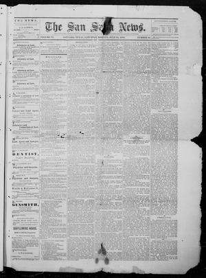 Primary view of object titled 'The San Saba News. (San Saba, Tex.), Vol. 6, No. 46, Ed. 1, Saturday, July 24, 1880'.